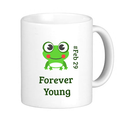 Leap Year Birthday Mug
