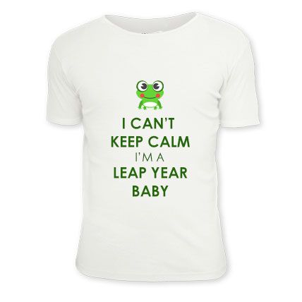 Leap Year Birthday Baby Tee
