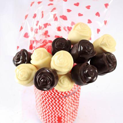Chocolate Roses- White & Dark