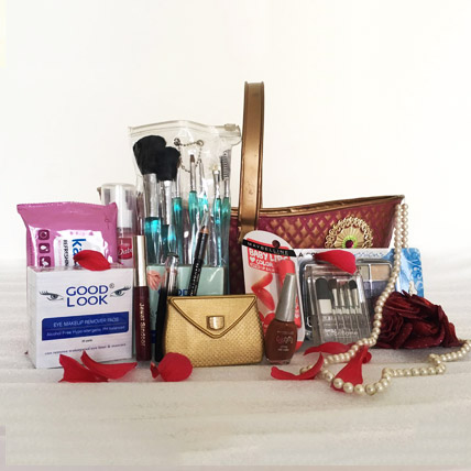 Ladies Makeup Basket