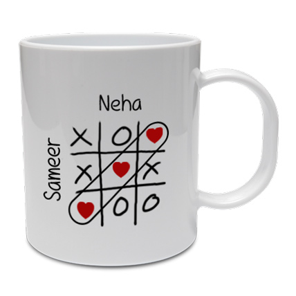 Love Crossword Mug