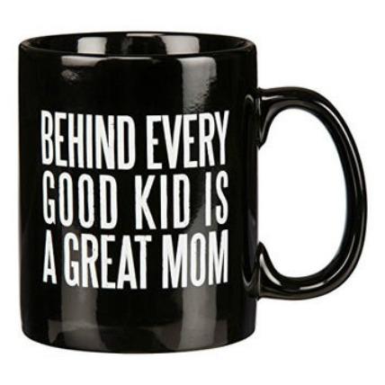 Best Mom Black Mug