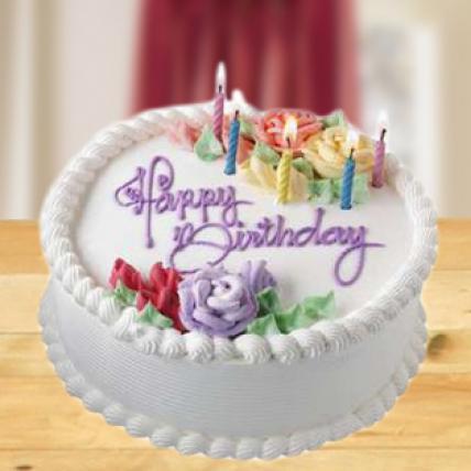 Eggless Vanilla Cake