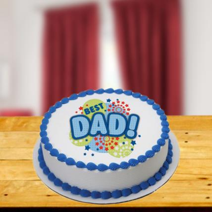 Special Words to Dad Cake