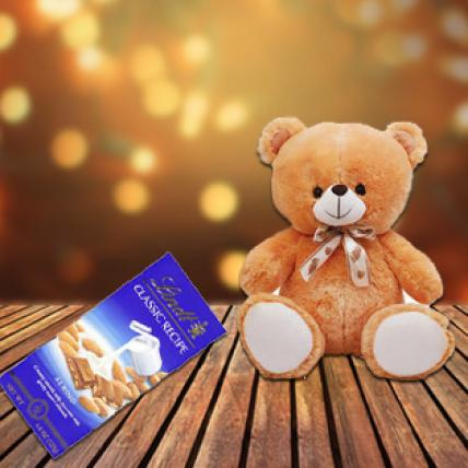 Lindt Swiss & Teddy Bear