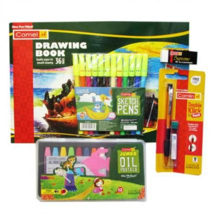 Camlin Drawing Kit Combo