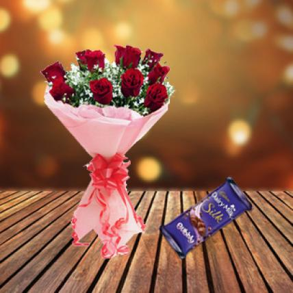 Roses & Dairy Milk Bubbly