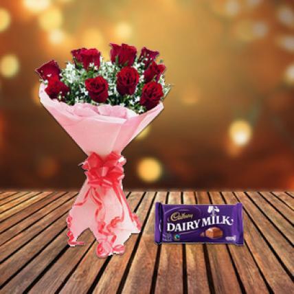 Valentine Roses choco Love