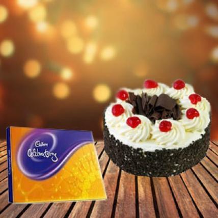 Cake and Cadbury Celebration