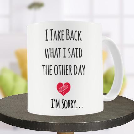 I Say Sorry Mug