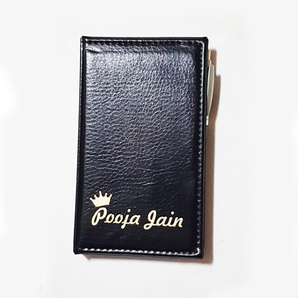 Personalised Daily Diary Folder
