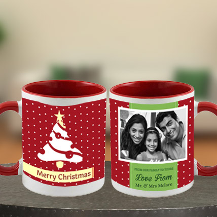 Merry Christmas Photo Mug