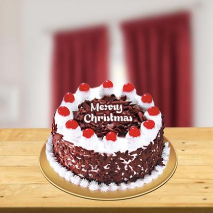 Christmas Blackforest Cake