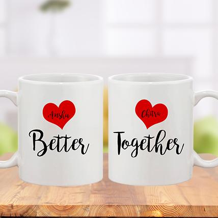 Valentine Better Together Mug
