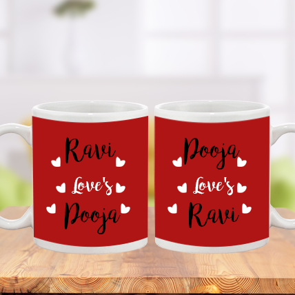 Valentine Love Confession Mug