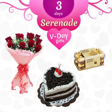 Valentine 3 Day Serenade