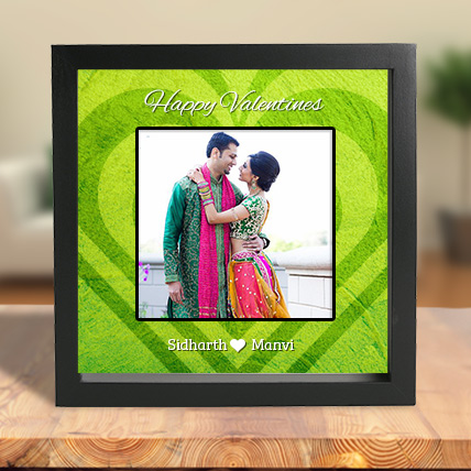 Gorgeous Green- Framed in Love