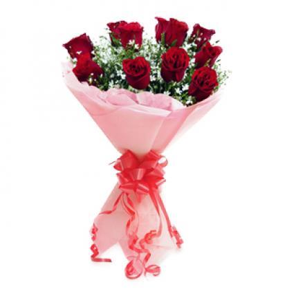 Valentine 12 Roses