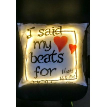 LED Cushion Valentine