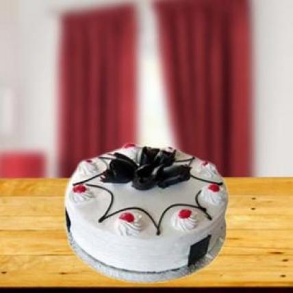 Valentine 5 Star Hotel Whiteforest Cake