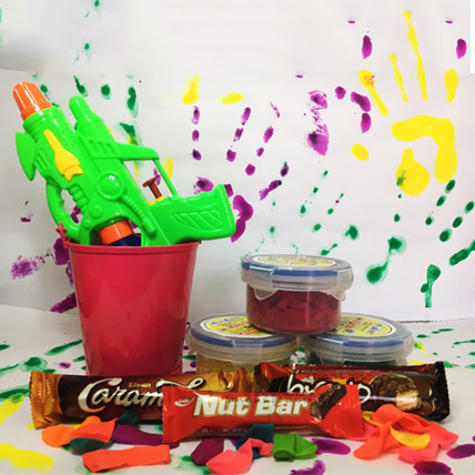 Gun Pichkari Combo with Imported Chocolates