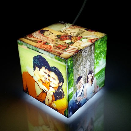 Personalised Lamp- Cubelit Mini