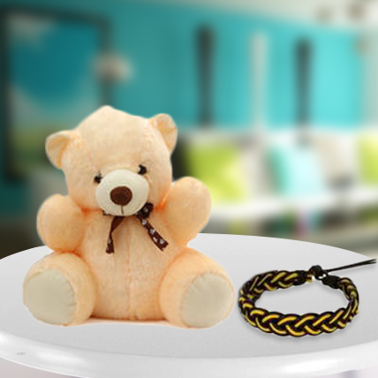 Teddy with Friendship band