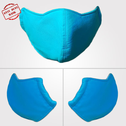 Anti Dust Mask Plain  Design