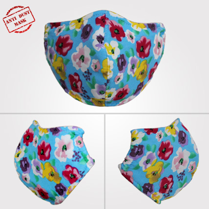 Anti Dust Mask Floral Design