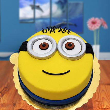 Minions Fondant Cake