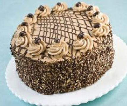 Mocha Coffee Cake Home Delivery Indiagift