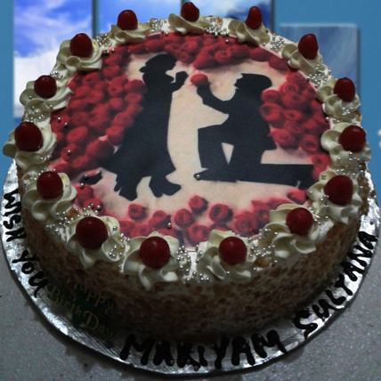 Marry Me Cake