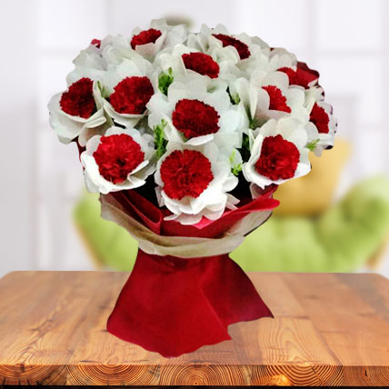Exclusive Carnations Bouquet