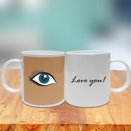 Eye Love You Couple Mug