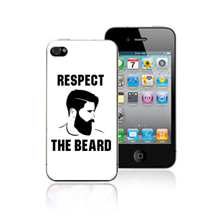 Respect the Beard Mobile Cover