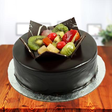 Valentine Exclusive Chocolate Fruit Cake