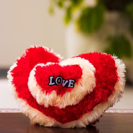 Heart Horizon Soft Cushion