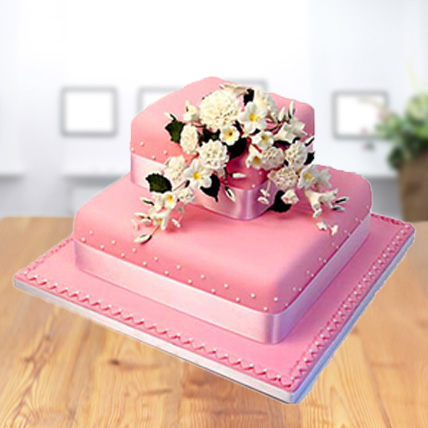 2 Tier Square Cake from 5 Star