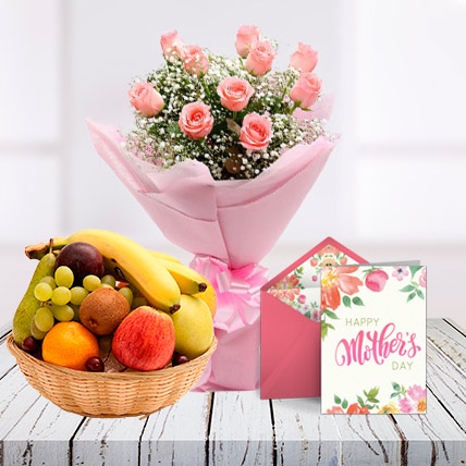 Mothers Day Pink Combo and Card