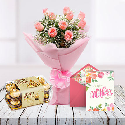 Mothers Day Lovely Combo and Card