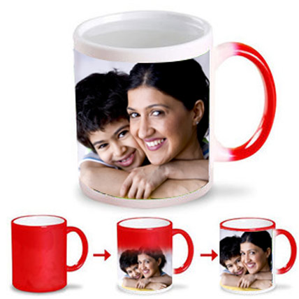 Love you Mommy Magic Mug Red