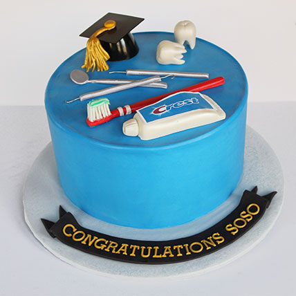 Dentist Fondant Cake