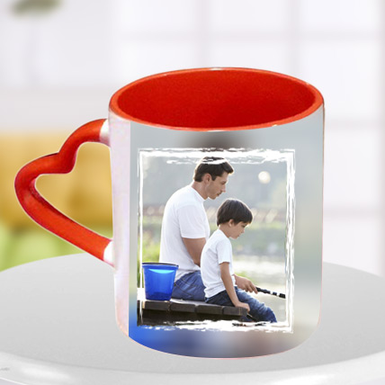 Heart Handle Mug for Dad