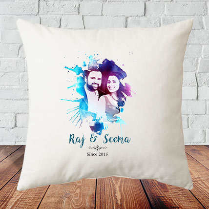 Anniversary Couple Cushion