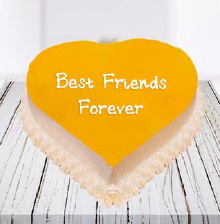 Heart Shape BFF Cake