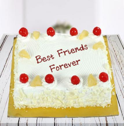 BFF Square Pineapple Cake