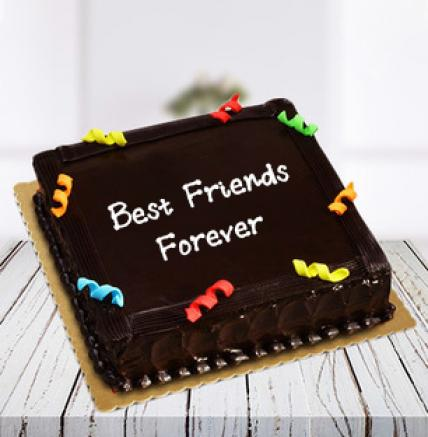 Friendship Day Cake Truffle Square