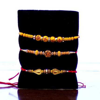 Set of 3 Rakhis-Basic