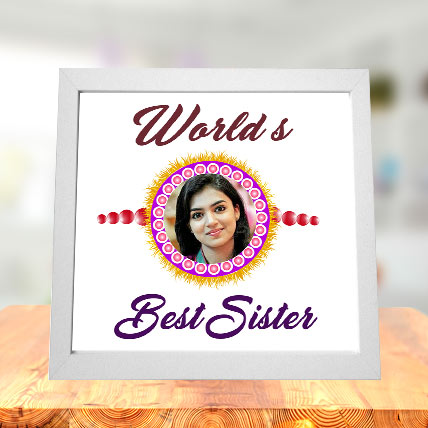 Worlds Best Sister Photo Frame