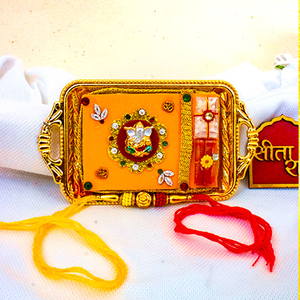 Mini Rakhi Thali